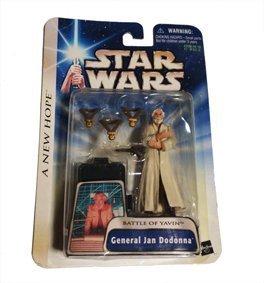 Preisvergleich Produktbild [Star Wars] General Jan Dodnna / Star Wars Basis Abbildung Dodon'na Shogun
