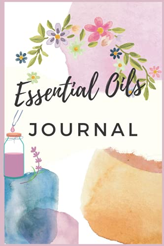 Essential Oil Diary Personalized Essential Oil Journal Relaxing Scents...