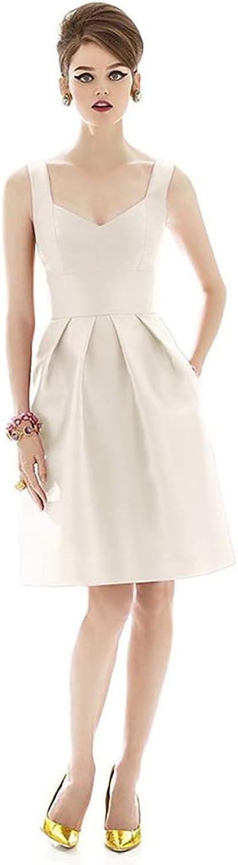 European and American Shoulders Highend Evening Dress VNeck Dress Short Princess Dress