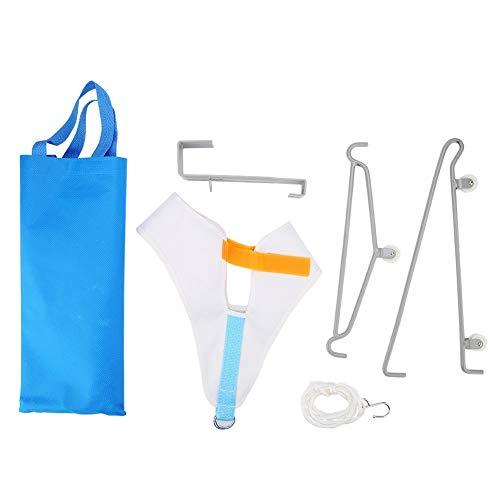 Kit de tracción cervical Dispositivo de tracción del cuello sobre la puerta Tracción cervical ajustable para el alivio del dolor de cuello