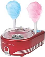 Nostalgia Retro Red Hard And Sugar Free Cotton Candy Maker