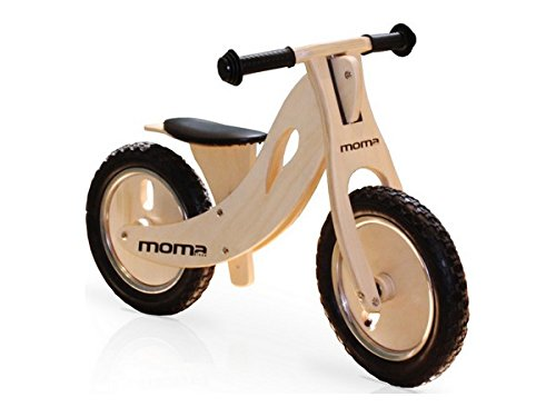 Moma Bikes Woody Sport Bicicleta, Unisex niños, Madera, Talla única