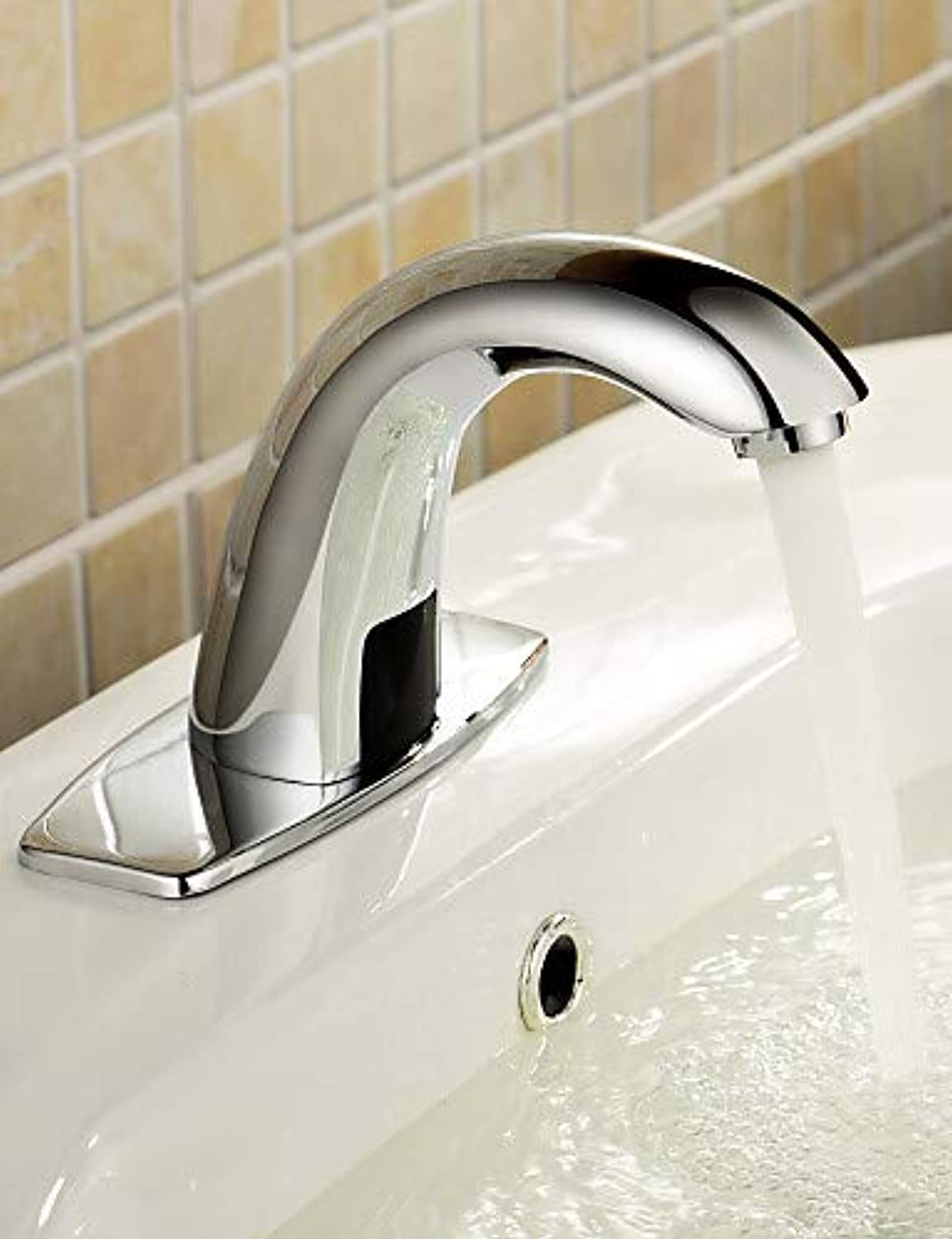 Mainstream home LPZSQ Tap Bathroom Sink Faucets Contemporary Touch Touchless Brass Chrome  292
