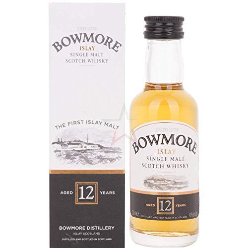 Bowmore 12 Years Old Single Malt Whisky Probiergröße (1 x 0.05 l)