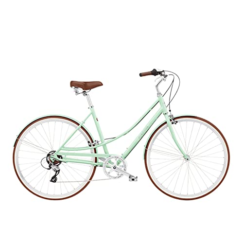 HXXXIN Bicicleta Cambio De Mujer Ligero Y Moderno Bicicleta De Mujer De 28 Pulgadas Loft Retro Moda Ciudad Bicicleta De Cercanías