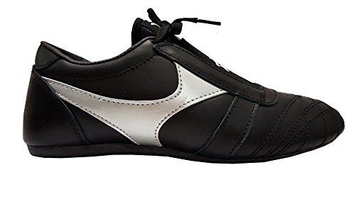 DOUBLE Y Chaussures Arts Martiaux en Cuir Noir T40