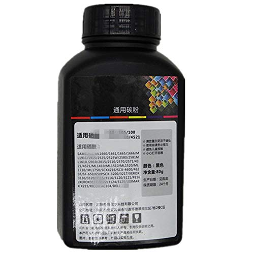 1 Pack 80G Original Black Refill Printer Toner Powder Kit Kits For Samsung SCX 4824 4828 4100 4200 4216 4520 4720 4725 4725F 4725FN DELL 1100 1600N Laser Toner Power Printer