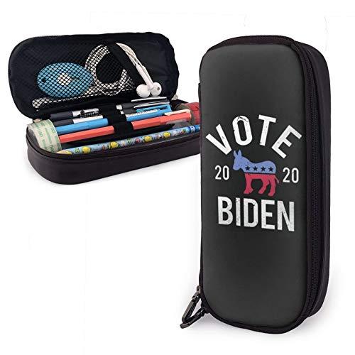 Federmäppchen mit großem Fassungsvermögen für Jungen und Mädchen, Vote Joe Biden Aufbewahrungstasche Beutel Halter Box Organizer