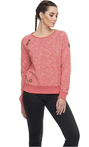 Ragwear, Parka Zircon, winterjas voor dames, koraal, maat XL