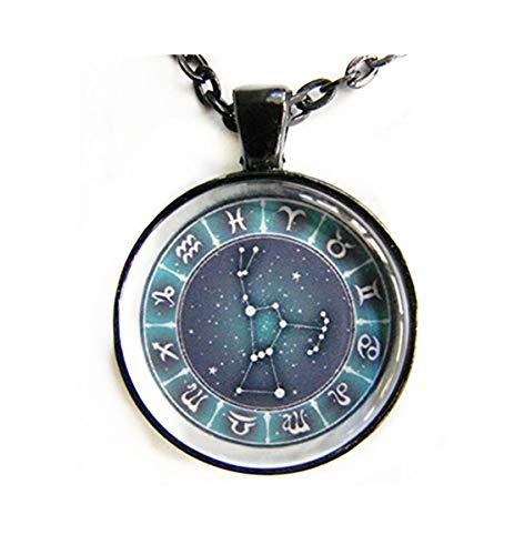 memory Orion Collar Constelación Orión, Signos del Zodiaco, Estrellas para él o Ella, Arte de la astrología