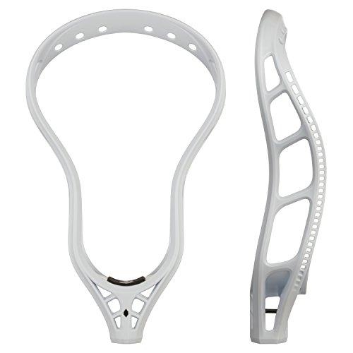 StringKing Men's Mark 2D Defense Unstrung Lacrosse Head (White)