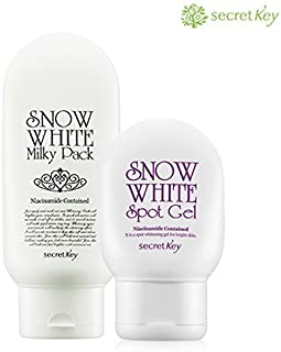 [SecretKey] Snow White Pack & Cream & Lotion & Gel (Spot Gel 65g + Milky Pack 200g) by Secret Key