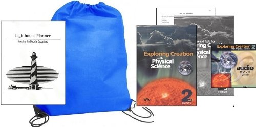 Price comparison product image Exploring Creation with Physical Science (Grade 8) w / Audio CD Homeschool Kit in a Bag