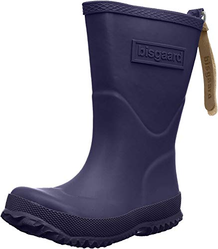 Bisgaard Unisex-Kinder Rubber Boot Basic Gummistiefel, Blau (21 navy), 25 EU