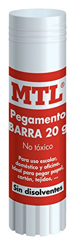 MTL 30271 - Barra pegamento, 20 gr