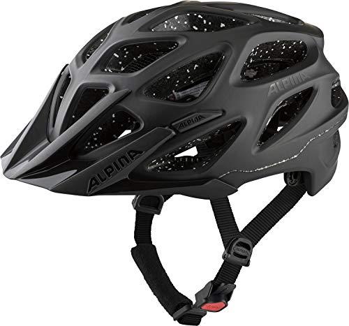 Alpina Unisex– Erwachsene Mythos 3.0 TOCSEN Fahrradhelm, Black matt, 59-64 cm
