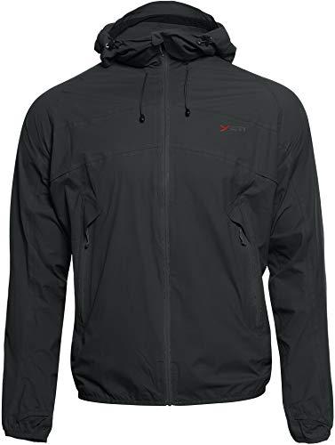 YETI Medby M's Ultralight 2.5-Layer Jacket Herren Hardshelljacke Jacke, Black, Größe XXL