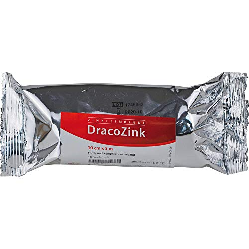 DracoZink Zinkleimbinde 10 cm x 5 m, 1 St. Binde