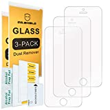 [3-PACK]- Mr.Shield For iPhone SE (2016 Edition ONLY) / iPhone 5/5S / iPhone 5C [Tempered Glass] Screen Protector [Japan Glass With 9H Hardness] with Lifetime Replacement