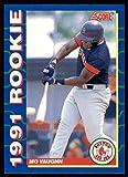 Mo Vaughn (Baseball Card) 1991 Score Rookies #6. rookie card picture