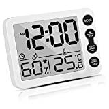 Uarter Hygrometer and Digital Indoor Thermometer, Accurate Room Temperature Gauge Humidity Monitor