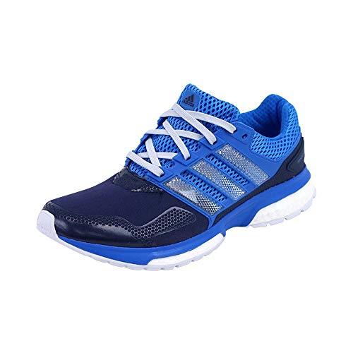 Adidas Herren Schuhe Response 2 Techfit Running blau, Schwarz - Schwarz - Größe: 46 EU