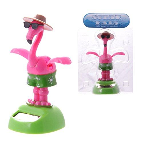 Solar Pal, Tanzender Flamingo mit Sonnenbrille