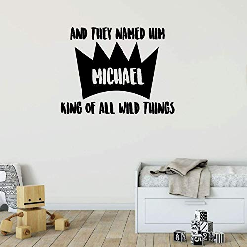 Where the wild things are decals