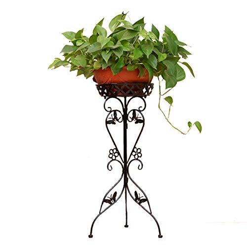 Rolanli Blumenständer Metall, Blumenregal Dekor für Innen Outdoor Garten Balkon