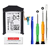 Original Part Factory for Samsung Galaxy Gear S3 Frontier S3 Classic Battery Replacement, SM-R760, SM-R770,R760, R770, BR760, R765 EB-BR760A,EB-BR760ABE, GH43-04699A Battery, with Full Tools