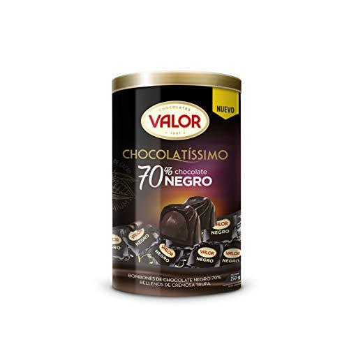 Valor,Bombón Chocolatissimo Negro 70% - 250 gr.