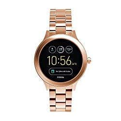 top 10 fossil smartwatch iphone Fossil Gen 3 Venture Ladies Smartwatch Stainless Steel Rose Gold (Model: FTW6000)