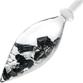 VitaJuwel- Emoto Crystal- Gem Water Gemstone Crystal Infuser Wand: Noble Shungite+ Clear Quartz