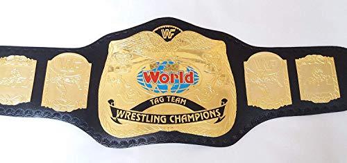 Qualitycreator WWF Tag Team Championship Gürtel Nachbildung 4mm Messing Teller