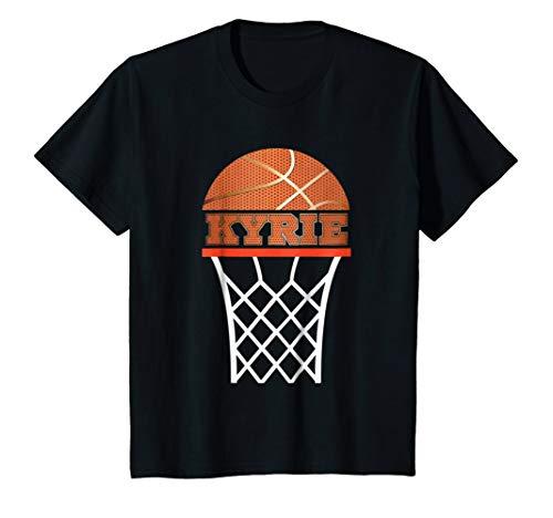 Kids Basketball Apparels Boy Custom Name Kyrie, Youth T Shirt