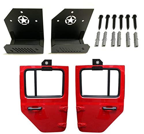 SEMTION 2pcs Jeep Door Hangers Heavy Duty Storage...