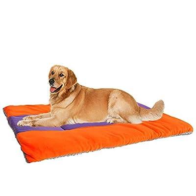 SILD Colchón para Perros Colchón para Mascotas Colchón Reversible para Perros Perros y Gatos Colchoneta Acolchada Suave