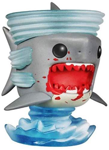 NoNo Wunderschön Sharknado Pop Figura 2010 Anno # 11 Serie Figura PVC inscatolato Regalo Statua 10CM
