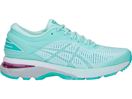 ASICS Women's Gel-Kayano 25 Running Shoes, 7.5M, ICY Morning/SEA Glass