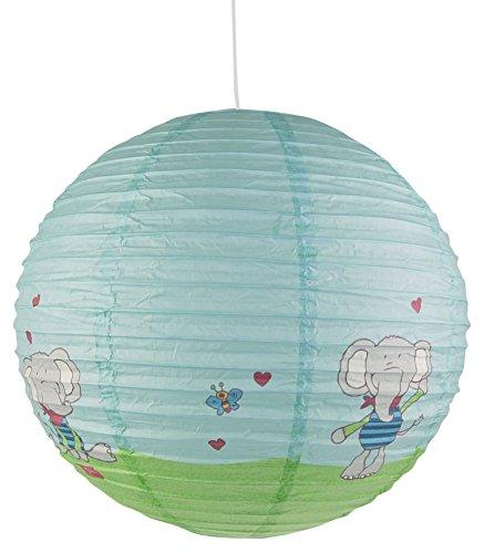 Niermann Standby Pendelleuchte Papierballon Lolo Lombardo, Papier, 40 x 40 x 40 cm