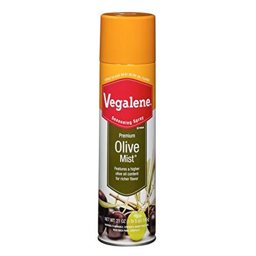 Vegalene Premium Olive Mist Aerosol Spray, 21 Ounce -- 6 per case.