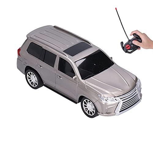 Modelo de vehículo, Coche a Control Remoto Regalo Maravilloso y promueve el Aprendizaje temprano con Control Remoto para niños Mayores de 6 años para Jugar en casa al Aire Libre((Gray))