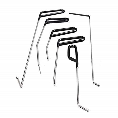 6-teiliges Auto-Beulenreparatur-Werkzeug-Hebel-Werkzeug Auto-Beulen-Reparatur-Set Auto-Reparatur-Hebel-Haken Dellenreparatur-Entfernungs-Werkzeug-Set