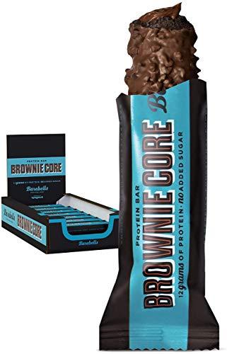 Barebells Proteinriegel Brownie Core bar 35g x 18 Proteinreich Kohlenhydratarm Kaum Zucker 20 Gramm Protein pro 55-Gramm-Riegel Köstliche Proteinriegel für Muskelaufbau und -regeneration