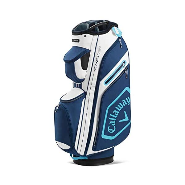 Callaway-Chev-14-Sac-de-Golf-Mixte-5120136-BlancBleu-Marine-Taille-Unique