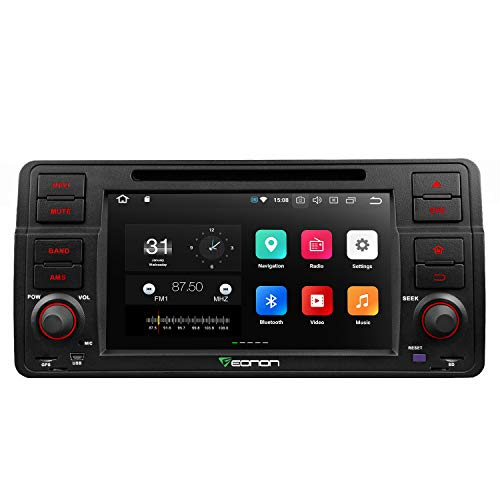 Eonon Car Stereo Radio Android 8.0 Car Stereo,in Dash Touch Screen, 4GB RAM 32GB ROM Octa-Core Applicable to 3 Series 1999,2000,2001,2002,2003 and 2004(E46) Support Dual Bluetooth, Fastboot-GA9150A