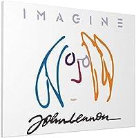油絵 John Lennon ジョン・レノン ポスター アートパネル 装飾画 モダンアート ウォールアート キャンバス寝室の装飾 インテリアアート 壁の絵 飾塗装 絵画部屋飾り 壁アート キャンバスアート30x40cm フレームレス
