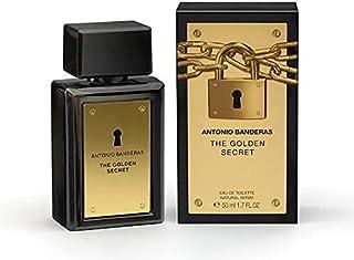 The Golden Secret by Antonio Banderas Spray for Men (50ml Eau de Toilette)