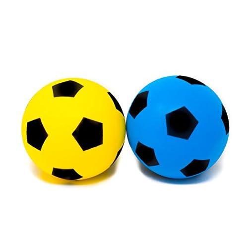 E-Deals in spugna, misura 4, per interni ed esterni, motivo: pallone da calcio