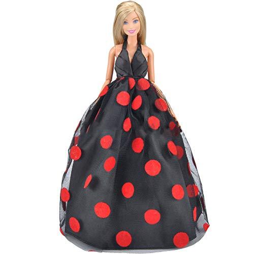 Faironly Hochzeitskleid Prinzessinnenkleid für 29 cm Puppe Abendkleid für Kinder Spielzeug...